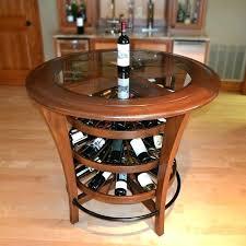 console bar table wine rack bar stool table with wine rack buy