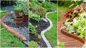 plastic garden edging ideas brick 17 simple and cheap garden edging ideas for your garden