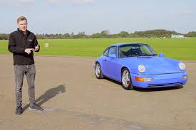 porsche maritime blue video behind the wheel of the ultimate porsche 964 rennsport