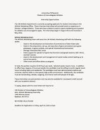 Cover Letter For Internship In Marketing by Sports Business Club At Uw Madison Marketing Internship With The