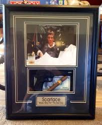 scarface home decor best collectible scarface shadow box for sale in cecil county