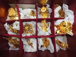 the danbury mint gold ornament collection rainforest