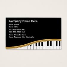 musical cards business cards 8000 business card templates