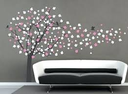 Cherry Blossom Tree Wall Decal For Nursery Wall Decals Tree Family Tree Wall Sticker Vinyl Home
