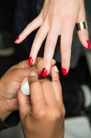 nail color trending for summer 2015 candy apple red glamour