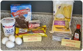 copycat chocolate chocolate chip cake www thepinningmama com