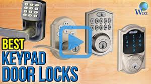 top 10 keypad door locks of 2017 video review