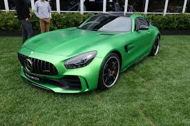 green mercedes benz automotive pebble beach 2016 mercedes maybach vision 6 mercedes