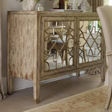 hooker furniture sanctuary two door mirrored console belfort
