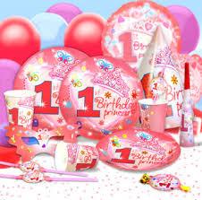 wholesale party supplies children s birthday party supplies 1 year baby girl birthday