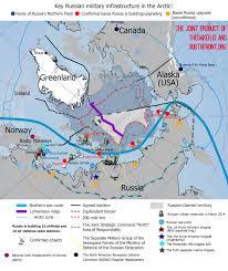 Map Russia Military Map The Joint Strategic Command U0027north U0027