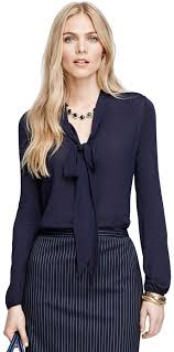 navy blouse brothers bow front blouse where to buy how to wear