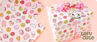 where to buy pretty wrapping paper buy tofu gift wrap set kawaii happy pink things at tofu