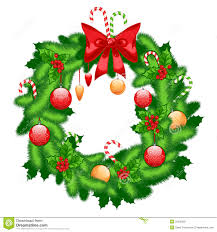 Holiday Wreath Christmas Fir Wreath Royalty Free Stock Photo Image 35108365