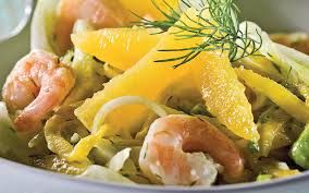comment cuisiner le fenouil salade de fenouil aux crevettes et à l orange recette de salade