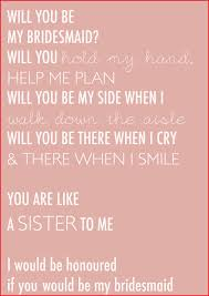 will you be my of honor poem 125218 bridesmaid proposals we