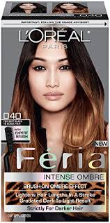 light brown hair dye for dark hair amazon com l oréal paris feria wild ombre hair color medium to
