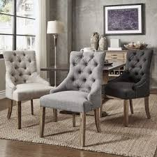 Best  Fabric Dining Chairs Ideas On Pinterest Reupholster - Dining chairs in living room