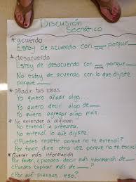 ap spanish language sample essays socratic seminar sentence frames in spanish student discourse learn spanish