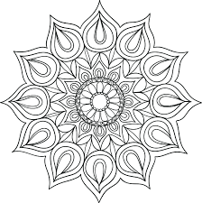 fire mandala coloring pages adults coloring
