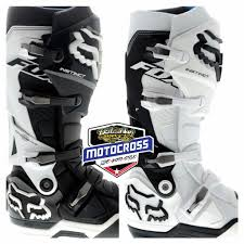 fox tracker motocross boots botas fox instinct motocross sidi tech 7 10 gaerne negra