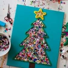 Paper Mache Christmas Crafts - homemade christmas ornaments for kids to make paper mache