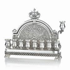 menorah buy buy hadad sterling silver engraved back wall hanukkah menorah