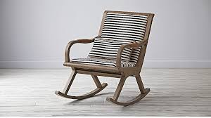 Rocking Chair Bakersfield Black And White Rocking Chair Reviews Crate And Barrel