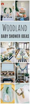 themed baby shower modern woodland themed baby shower