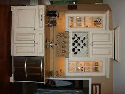 Kitchen Cabinet Wine Rack Ideas Home Accessories Modern Microwave Drawer With Kitchen Cabinet