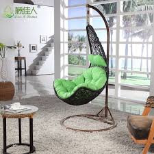 hanging pod chair for bedroom swing seat living room home designs