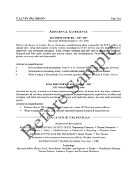 Sample Interests For Resume by Résumé Samples Chesepeake Career Management Services