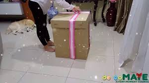 send birthday balloons in a box balloon box