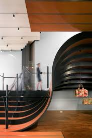 Hanging Stairs Design Freeflowing Spiral Staircase Design By Patrick Jouin Closed