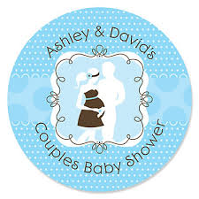 baby shower for couples silhouette couples baby shower it s a boy personalized baby