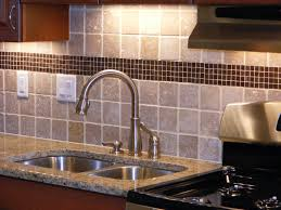 Kitchen Tile Backsplash Ideas With Granite Countertops Granite Countertop Pine Kitchen Cabinet Doors Spanish Tile