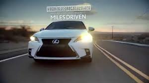 lexus is electric car lexus hybrid ad blasts plug in cars youtube