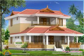 eye catching beautiful traditional home elevation kerala design