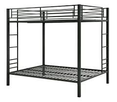 Twin Metal Loft Bed With Desk Dhp Furniture Full Over Full Metal Bunk Bed