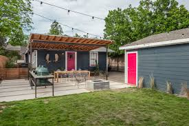 25 concrete patio outdoor designs decorating ideas design