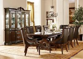 Cherry Wood Dining Room Set by 7 Pc Orleans Collection