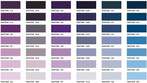 different shades of purple names pantone matching system color chart 17 executive apparel color