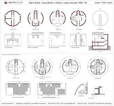casa medici a stabio dwg drawings proyecto pinterest