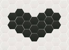 extro tiles hexagons pattern patterns pinterest bath