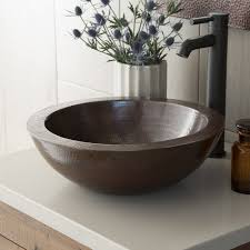 laguna copper bathroom vessel sink native trails