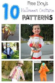 10 free halloween costume patterns for boys