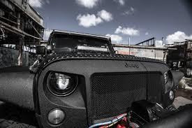 halo jeep wrangler blackout range gen 5 7 inch half halo led projector headlight kit