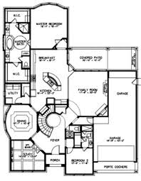 interesting house plans with curved staircase images best idea