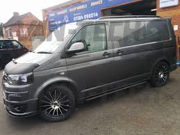 volkswagen minivan 2016 interior vw transporter t5 conversion with new side bars roof rails alloy