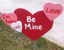 Valentine S Day Decor Outdoor by 211 Best Diy Yard Decoration Images On Pinterest Christmas Ideas